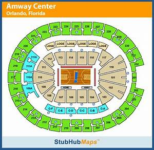 Amway Center Seating Chart Pictures Directions And
