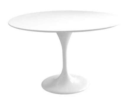 table ronde cuisine conforama table ronde de repas design tulipe laquée blanc 90 cm