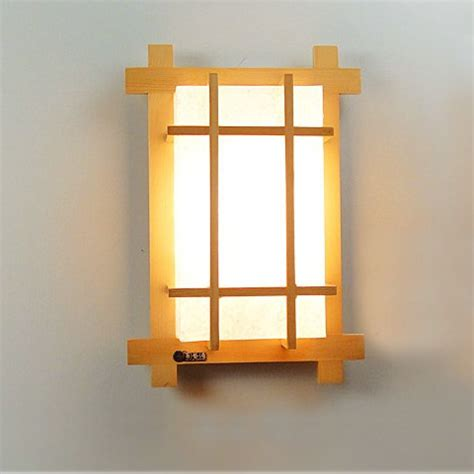 new style solid wood japanese style wall l