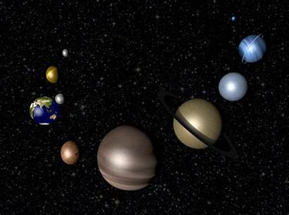 Solar System Giphy Animated Space Animation Universe