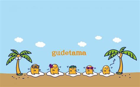 蛋黃哥 Gudetamaぐでたま 梳乎蛋 (蛋黃哥 Gudetama) - 桌布秀