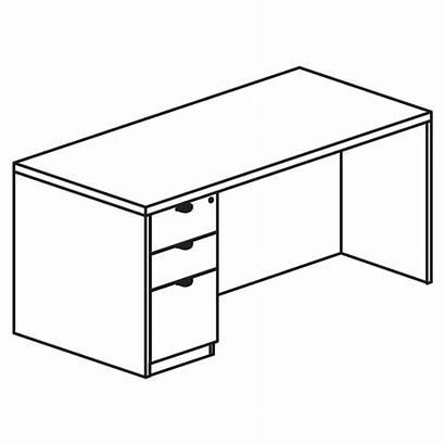 Desk Line Laminate Veneer Contemporary Stand Box