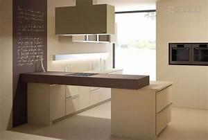 Plan De Travail Céramique : cuisine plan de travail de cuisine moderne fonc en ~ Dailycaller-alerts.com Idées de Décoration