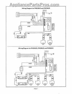 Parts For Thermador Phe30us  Wiring Diagram Parts