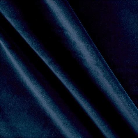 navy blue velvet acetex cotton velvet navy designer fabric