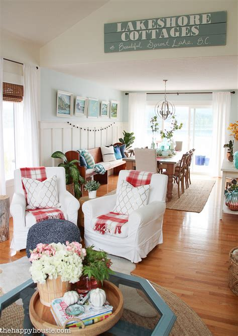 A Light Bright And Beautiful Home by Bright Airy Lake House Fall Home Tour Part 1 The