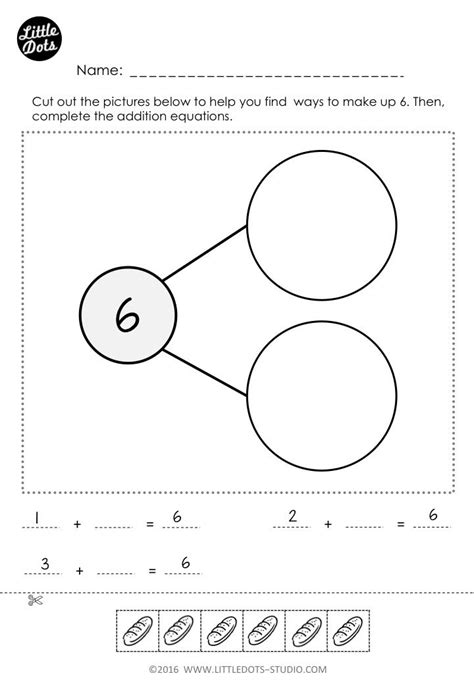 number bonds worksheet explore