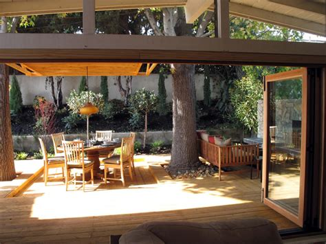 garden living space outdoor room design ideas pictures indoor outdoor living