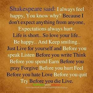 Shakespeare Quotes On Life – Quotesta