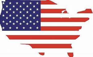 """American Flag, Country Outline, America, Americana, Stars"