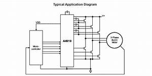A4919  Three Phase Mosfet Driver With Integrated Regulator