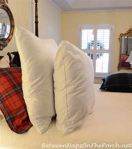feather and down euro pillow sham inserts vs poly filled With european sham inserts