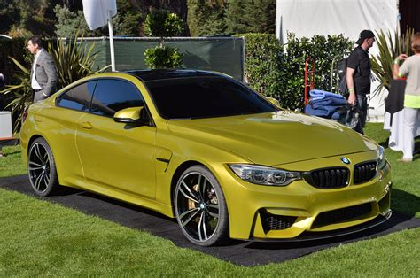 Bmw Concept M4 Coup Launch Photos From Pebble Beach