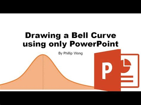 draw  bell curve  powerpoint youtube