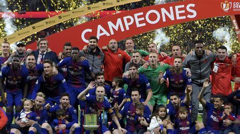 Barcelona gana la Copa del Rey tras golear 5-0 al Sevilla ...
