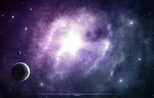Wallpaper glow, space, stars, nebula, purple images for ...