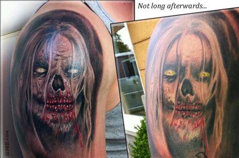 dla ciekawostki tatuaz po jakims czasie od wykonania na
