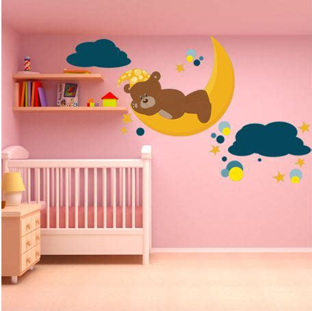 stickers ourson chambre bébé muurstickers in de babykamer 5 toffe voorbeelden