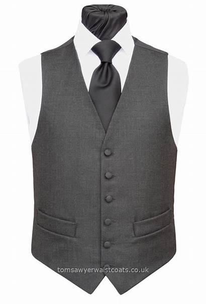 Grey Waistcoat Charcoal Waistcoats Mens Vest Classic
