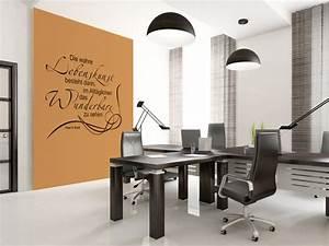 Bilder Für Büroräume : wandtattoos f rs arbeitszimmer und das b ro ~ Sanjose-hotels-ca.com Haus und Dekorationen