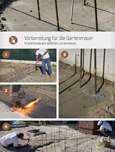 Wie Groß Ist Eine Normale Garage : vorbereitung f r die gartenmauer streifenfundament abdichten und einmessen bauen ~ Yasmunasinghe.com Haus und Dekorationen