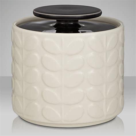 ceramic kitchen storage buy orla kiely raised stem ceramic kitchen storage jar 1l 2064