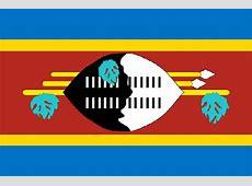 Flag Swaziland, flags Swaziland