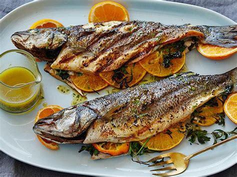 Grilled Whole Mediterranean Fish With Aged Sherryvinegar