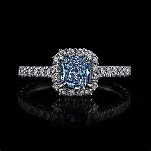 blue diamond wedding rings for her rings bands With blue diamond wedding rings for women