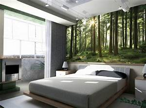 20 idees fascinantes pour decoration de chambre a coucher With idee deco chambre nature