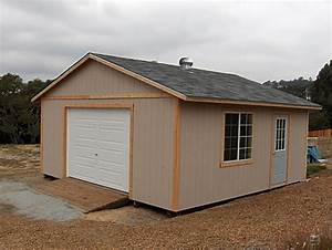 california custom sheds 20x20 truss package With 20x20 garage kit