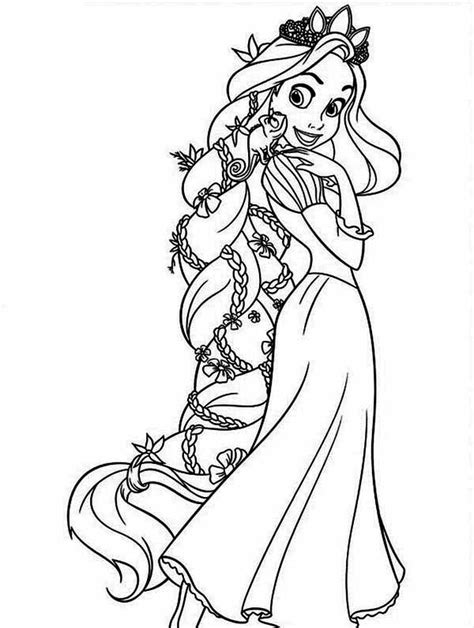 tangled coloring pages  dr odd