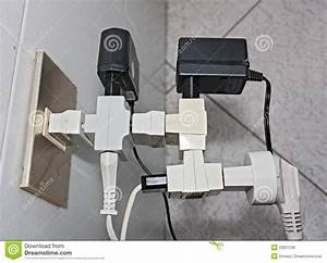 Bad Electrical Connection Stock Photo  Image Of Overloaded