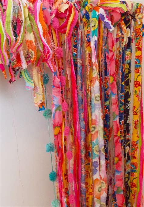 bohemian chic curtain home decor crafts art diy scherer