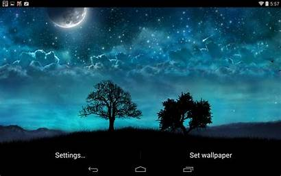 Galaxy Samsung Dream Night Wallpapers Tab Ace