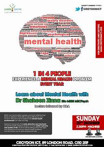 Learn about Mental Health on Sun 20 Dec at 2.30pm