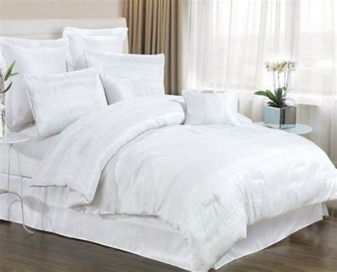 8 white bedding set includes comforter king