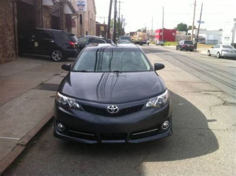 2013 toyota camry mpg purchase used 2013 gray toyota camry se low mileage fully
