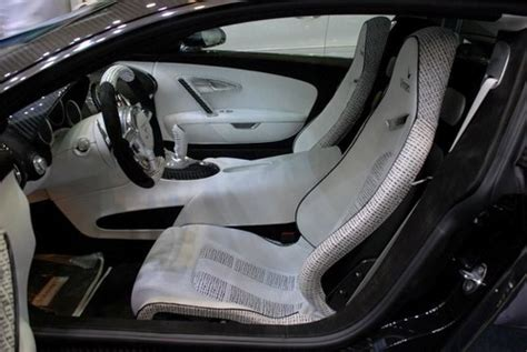 Overall, the bugatti veyron 16.4 super sport's interior is a stunner. Cars World: Bugatti Veyron interior