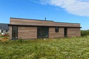 Ossature Bois Maison : maison ossature bois au conquet maisons bois acacia ~ Melissatoandfro.com Idées de Décoration