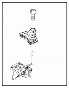 Dodge Caliber Manual Transmission Shift Linkage Boot  2010