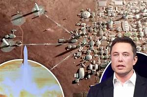 SpaceX: Elon Musk's Mars city plan for one million ...