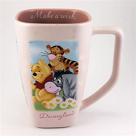 Buy winnie the pooh mugs and get the best deals at the lowest prices on ebay! Winnie the Pooh Coffee Mug Make A Wish Disneyland 12 oz Pink Disney k580 | Winnie the pooh, Pooh ...