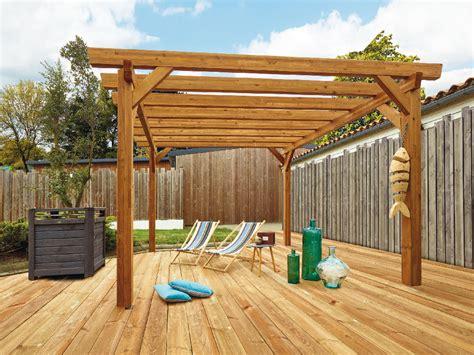 plan de pergola en bois gratuit de conception de maison