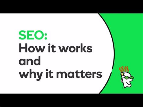 How Does Seo Work by How Does Seo Work Godaddy