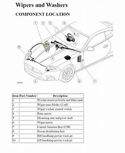 Windshield And Headlamp Washer System