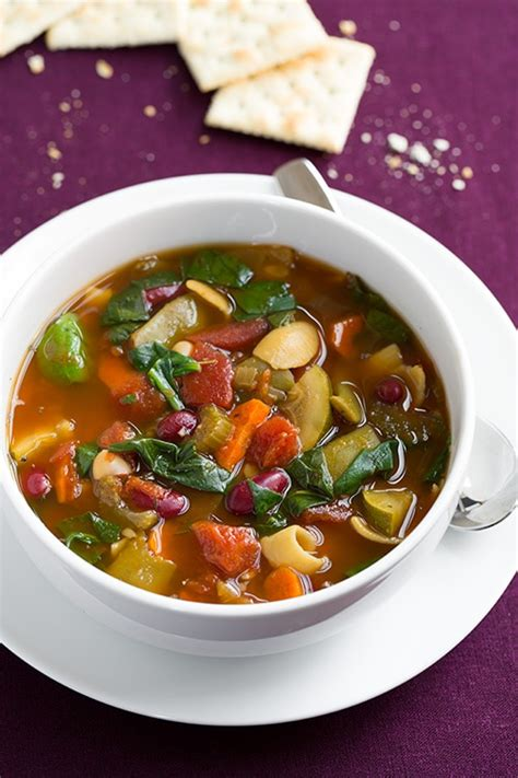 Soups From Olive Garden by Minestrone Soup Cooker Or Stovetop Method Cooking
