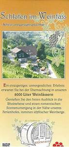 Schlafen Im Weinfass Sasbachwalden : prospekte sasbachwalden ~ Eleganceandgraceweddings.com Haus und Dekorationen