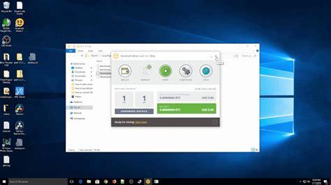 In order to start mining bitcoins on your windows 8. Bitcoin Mining Software Windows 10 Free - Kriptonesia