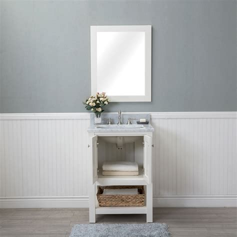 Alya Bath Wilmington 24 in. Single Bathroom Vanity in